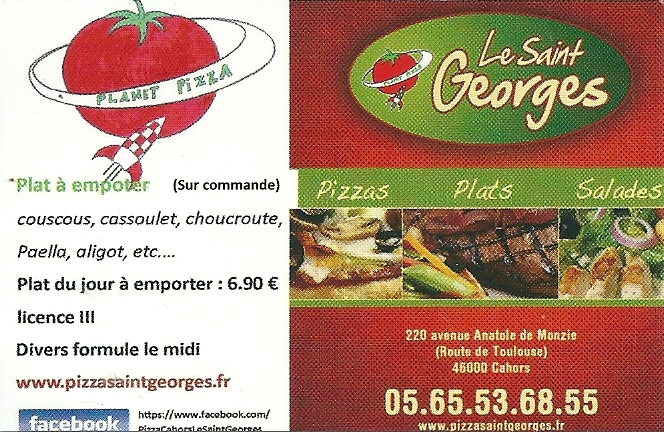 PIZZAS ST GEORGES
